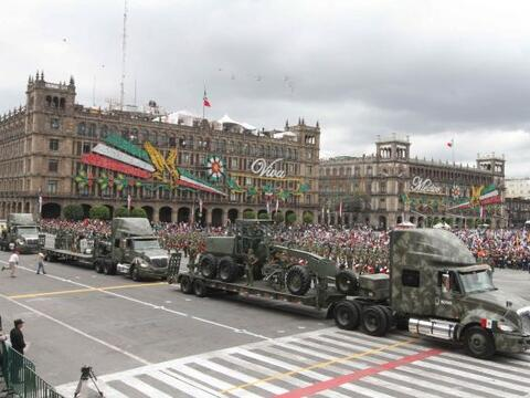 Este desfile es una tradición en México. Cada año m...