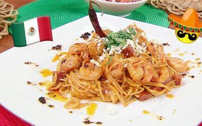 Receta de Espaguetis a la Mexicana delicioso para tu familia