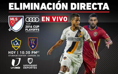 EN VIVO | Playoffs MLS | LA Galaxy vs Real Salt Lake | Eliminación Directa