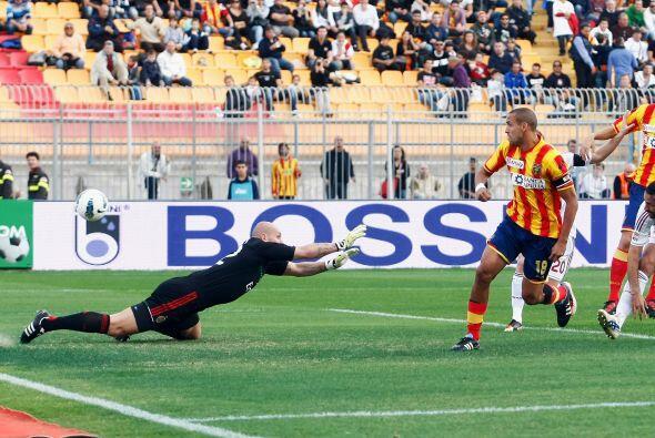 Nadie esperaba que apenas al minuto cuatro los 'rossoneri' ya fueran per...