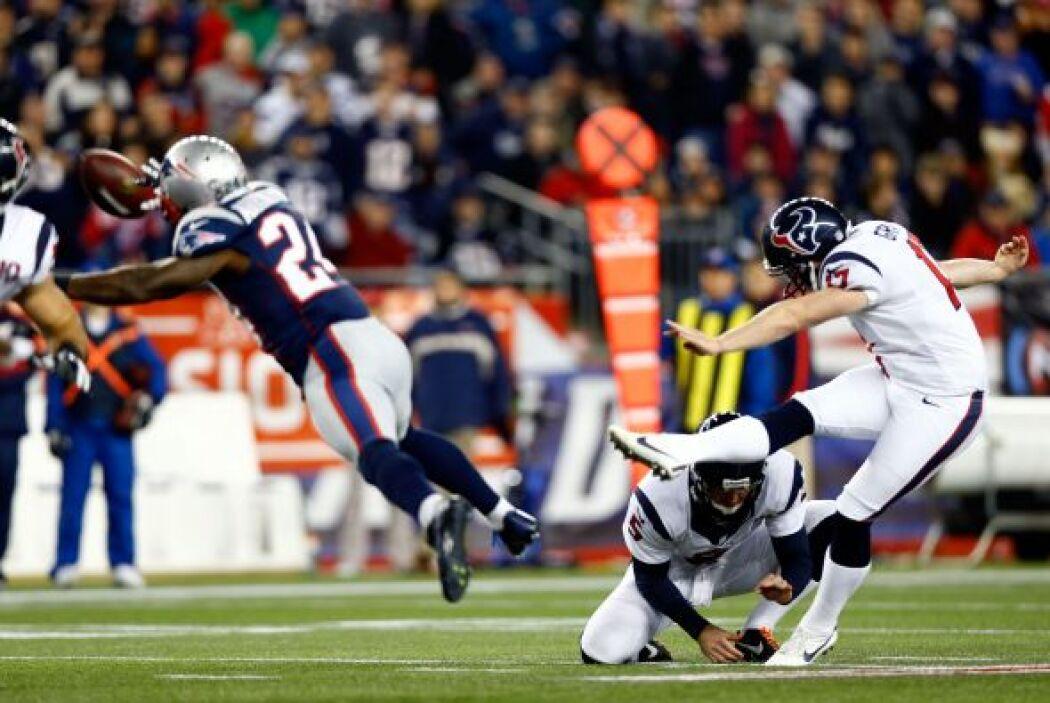 Con la jugada de Manning, Houston sacó tres puntos con un gol de campo.