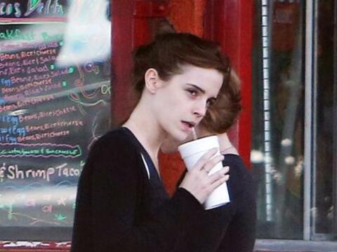 Emma Watson tuvo un día agitado en Los Ángeles. Mira aqu&i...