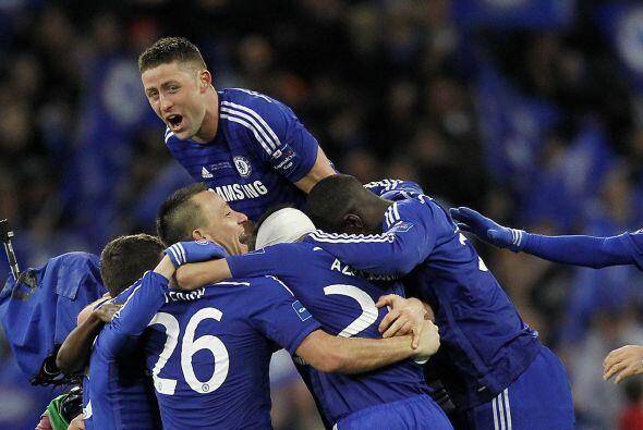 Chelsea reflejaba su dominio en el marcador sobre un rival que mostraba...