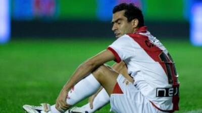 Castillo marcó los dos goles con los que el Rayo maquilló la goleada suf...