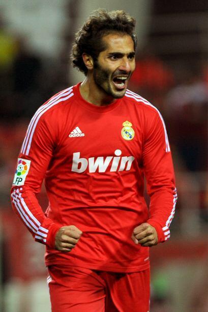 Altintop se sacó la mufa y anotó con la camiseta del Real...