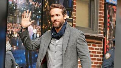 Wow, ¡Ryan Reynolds luce impecable!