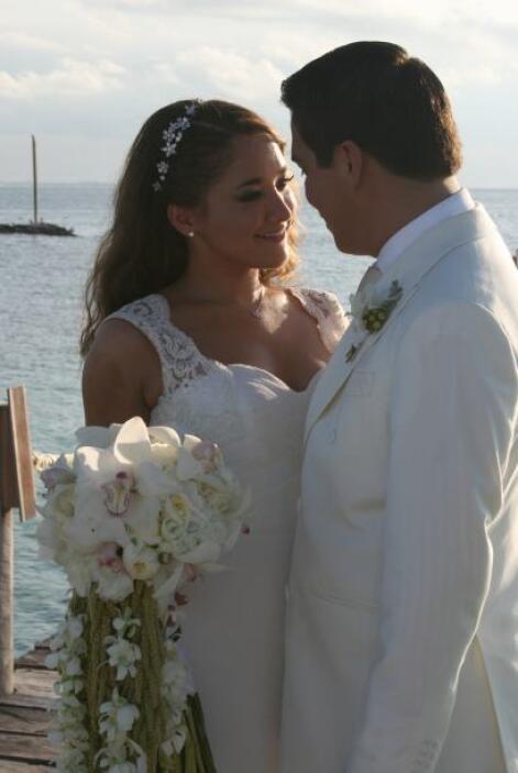 El de Gerardo y Sherlyn fue amor a primera vista.