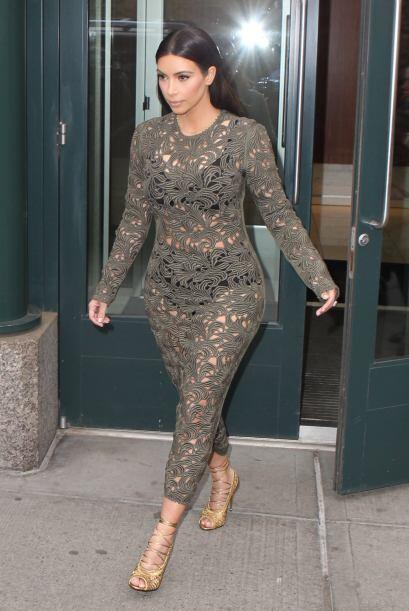 Pero aún así Kim se sentía muy orgullosa de su imagen. Mira aquí los vid...