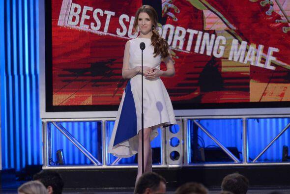 Anna Kendrick presentó Mejor actor de reparto. Mira aquí l...