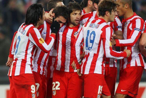 Los madrileños estaban en la pelea por el partido.