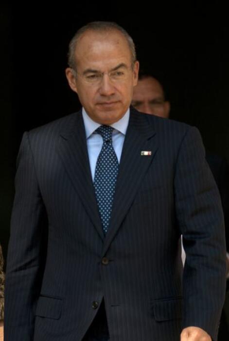 Felipe Calderón, expresidente mexicano (2006-2012) afirmó que durante su...