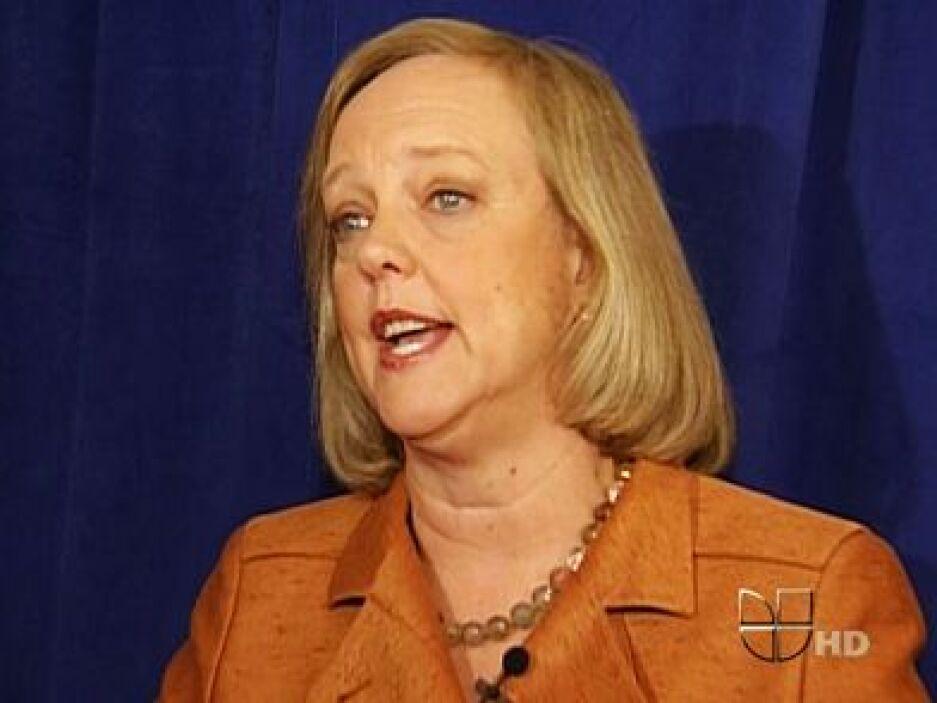 20.-MEG WHITMAN: Tiene 57 años. Es la actual CEO de Hewlett Packard en E...
