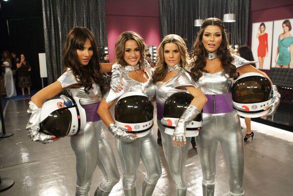 Alejandra hizo parte del baile galáctico del último show de Nuestra Bell...