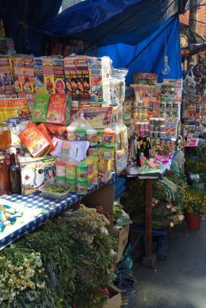 El Mercado Rodríguez de La Paz también ofrece productos diversos como el...