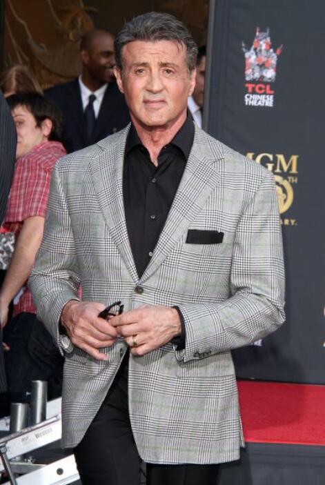 Sylvester Stallone es uno de los famosos que en su juventud fue profesor...