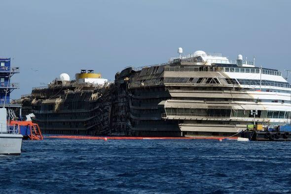 El gran ausente en el rescate del Costa Concordia fue el capitán de la n...