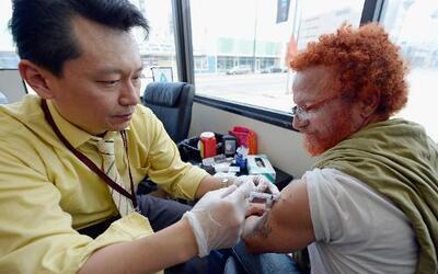 Las autoridades de salud han recomendado la aplicación de la vacuna anti...