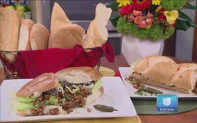 Disfruta de la noche de Latin Grammy con esta deliciosa 'Torta al pastor'