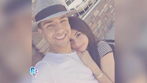 Luis Coronel ya no oculta su amor por su novia Cristina