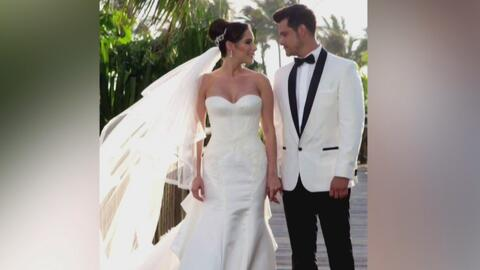 Boda de ensueño: Brandon Peniche y su novia unieron sus vidas en una cer...