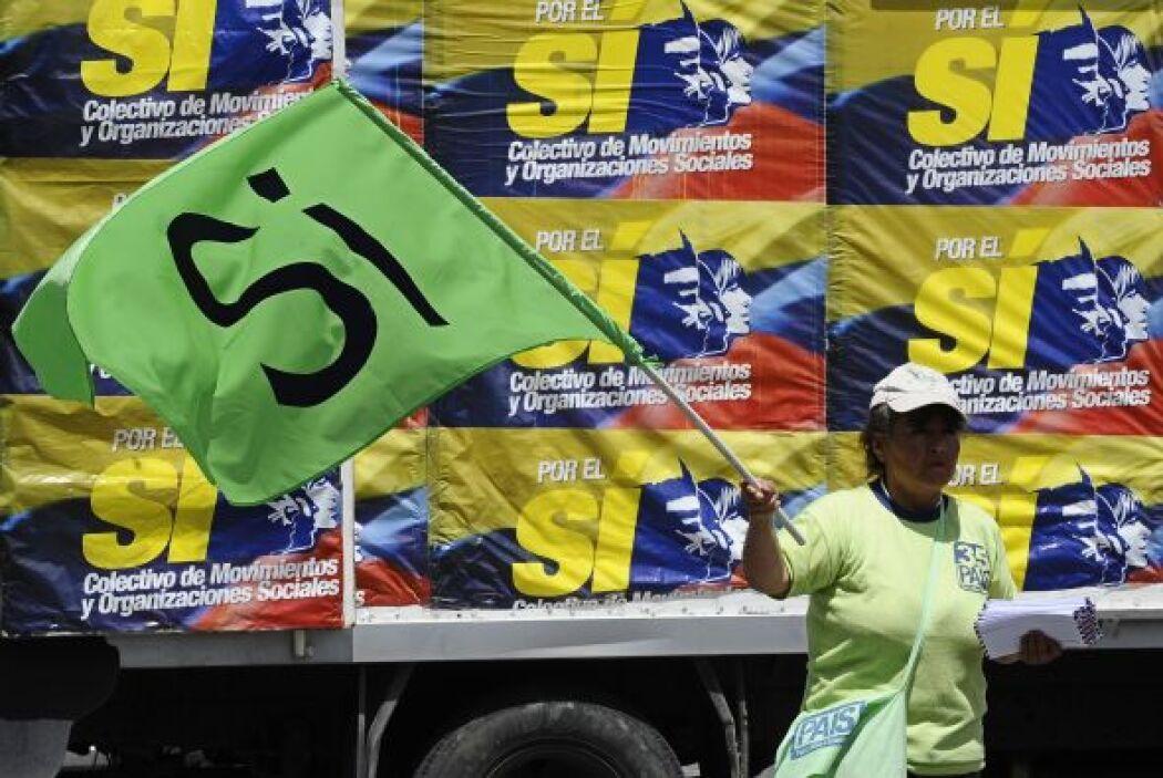 Esa victoria la logró al ganar el referendo del pasado 7 de mayo para re...