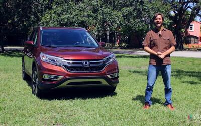 Honda CR-V 2016 - Prueba A Bordo [Full]