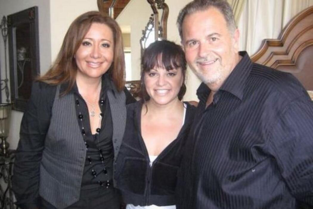 Raúl tuvo momentos muy especiales con la cantante.