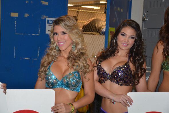 Estas son algunas de las modelos que estuvieron presentes en el concurso...