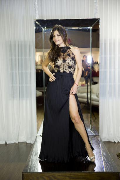 Con ese vestido, iba a derretir varios corazones en la alfombra.