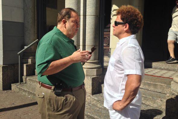 El Gordo tuvo la oportunidad de hacerle una entrevista exclusiva.