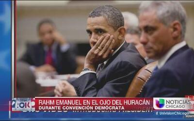 Rahm Emanuel en el ojo del huracán