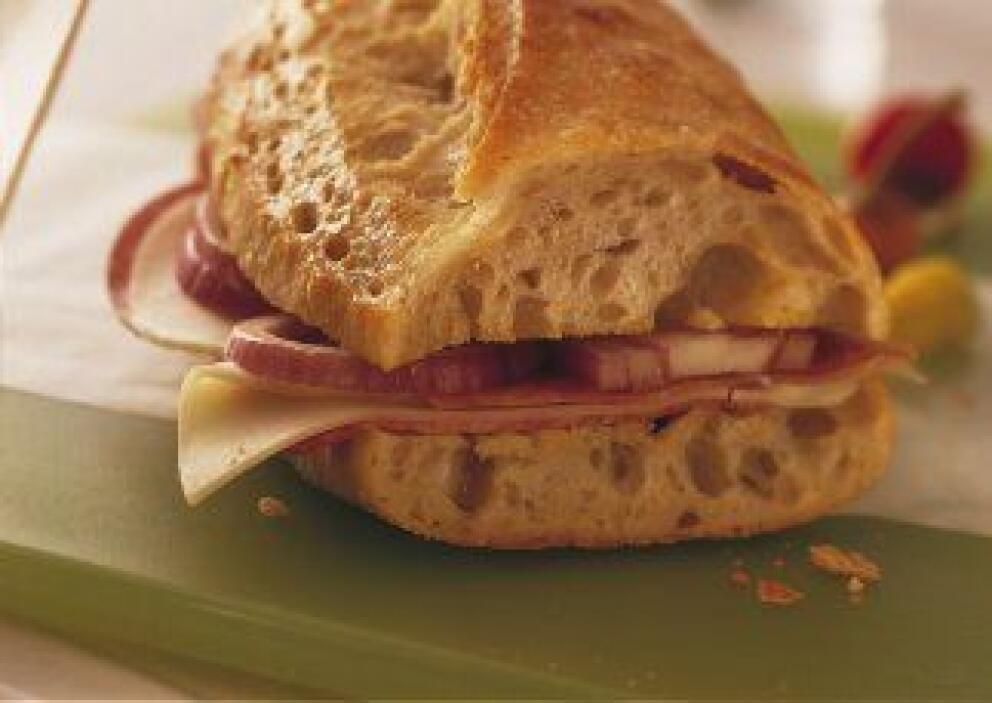 Sándwich Campestre Italiano: Una receta para preparar el sándwich perfec...