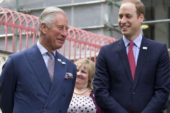 William se dio un alegre chapuzón