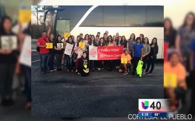 Estudiantes del condado Wake viajan a Washington D.C. para abogar por lo...