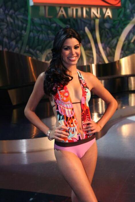 Yara Lasanta, segunda finalista 2007.