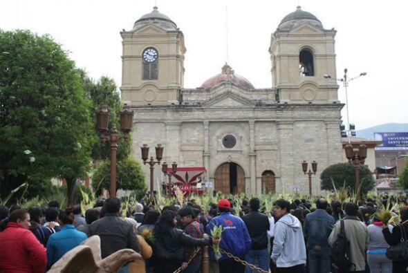 Parroquia de Nuestra Señora de Guadalupe en Guancayo, Perú.