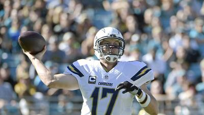 Chargers 31-25 Jaguars: Rivers lanza 4 de TD y San Diego sale de la mala...