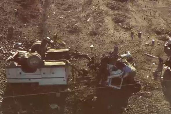 De acuerdo con funcionarios del cuerpo de bomberos, las autoridades detu...