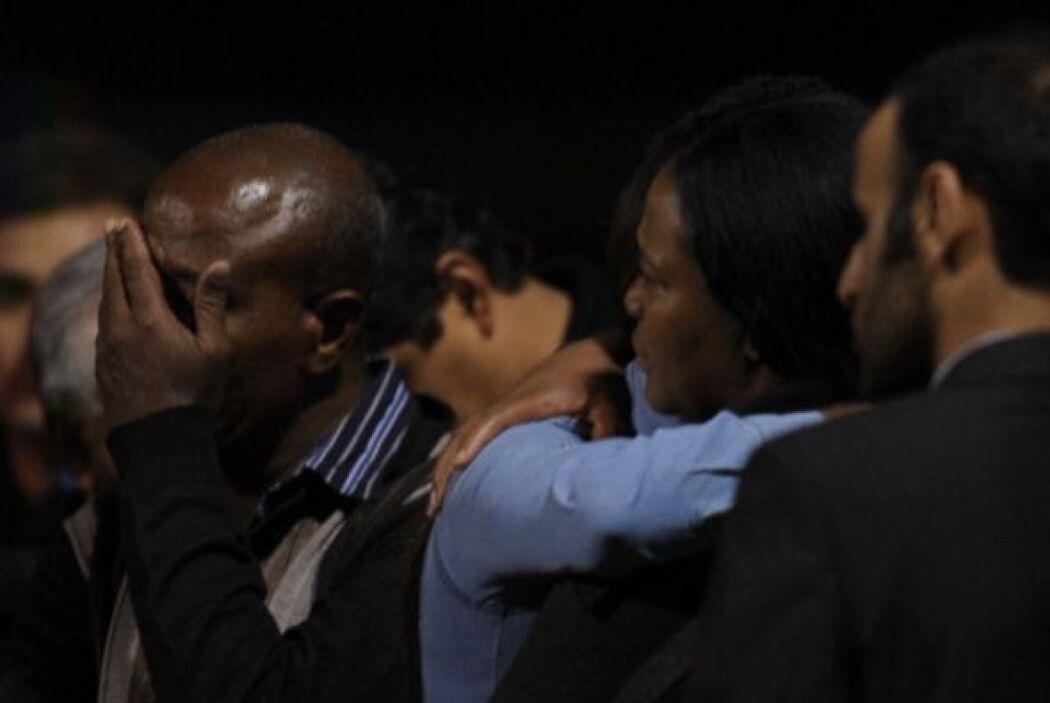 El canciller ecuatoriano, Ricardo Patiño, estuvo presente en la terminal...