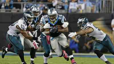 Eagles 16-27 Panthers: Carolina invicto con el mejor arranque de su hist...