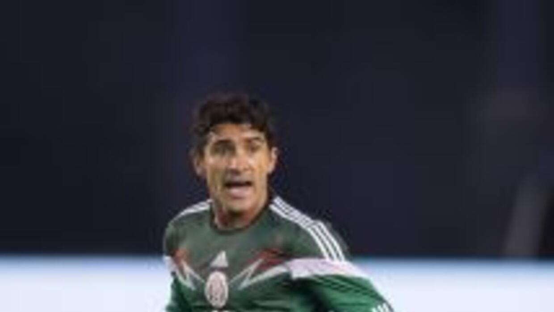 El naturalizado mexicano participó algunos minutos en los partidos elimi...