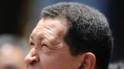 """El presidente venezolano Hugo Chávez aseguró que ha estado revisando """"pl..."""
