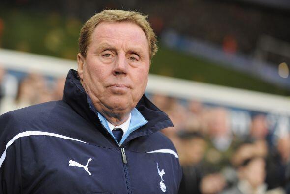 Misma suma recibe Harry Redknapp en el Tottenham...parece que en Inglate...