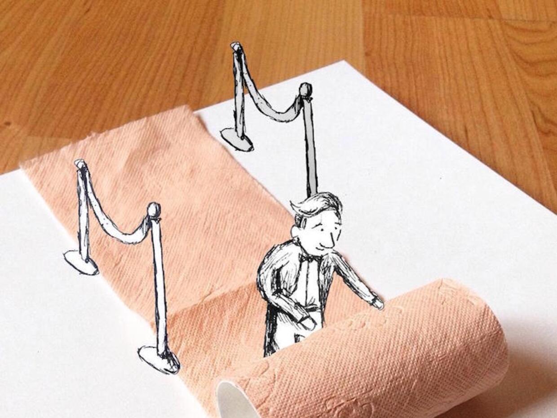 Geniales ilustraciones de un adolescentes