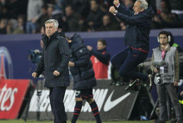 En Francia, los contrastes, Carlo Ancelotti del PSG muy triste,Gil...