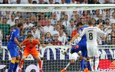 Morata marca el gol que eliminó al Real Madrid en la Champions de 2015