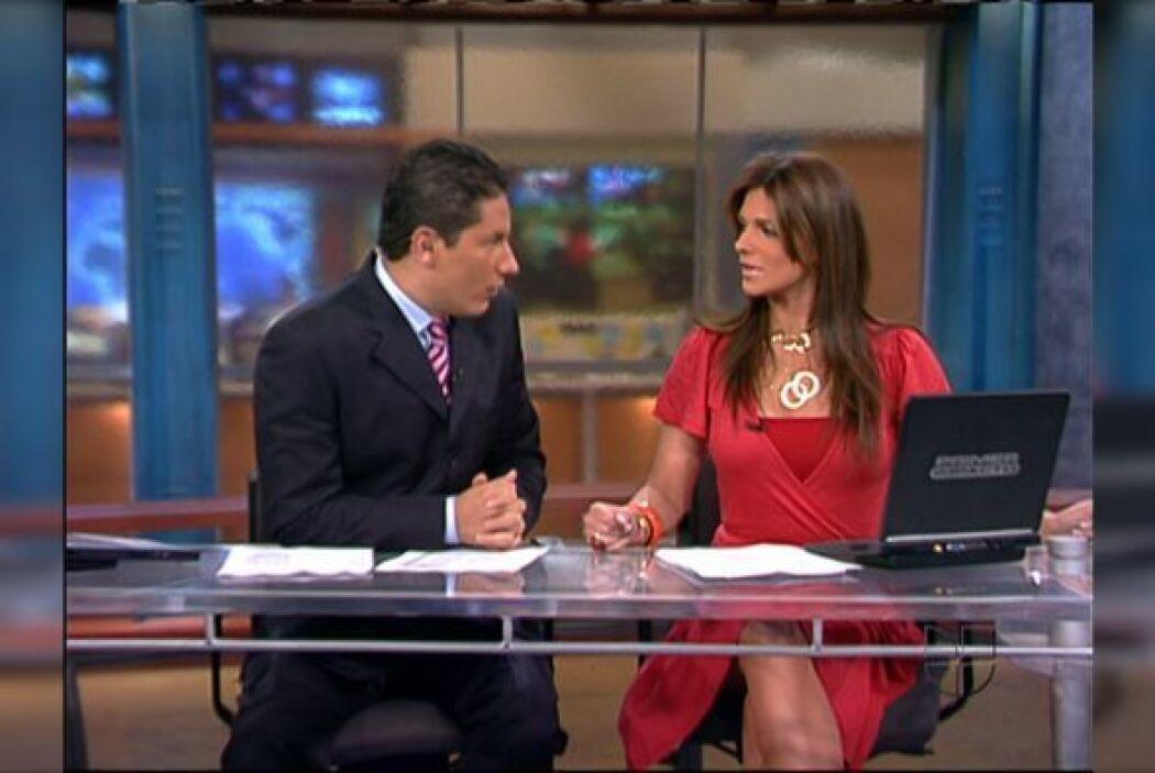Fernando del Rincón y Bárbara Bermudo