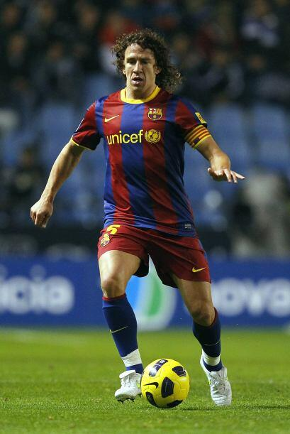 Defensa lateral por izquierda: Carles Puyol (España/Barcelona).