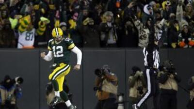 Aaron Rodgers tiene confianza en el futuro cercano de los Packers (AP-NFL).
