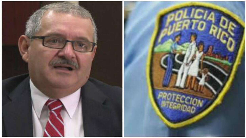Superintendente de la Policía, José Caldero